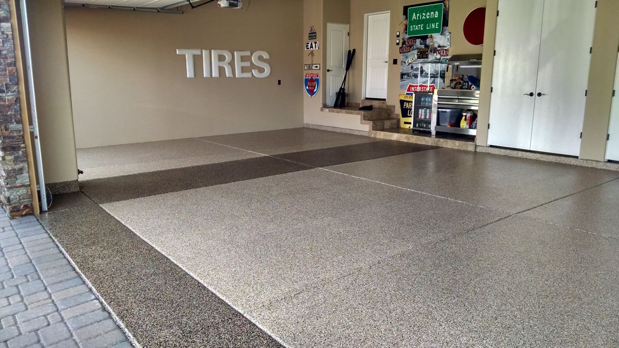 Phoenix garage flooring ideas gallery garage solutions for Garage deck